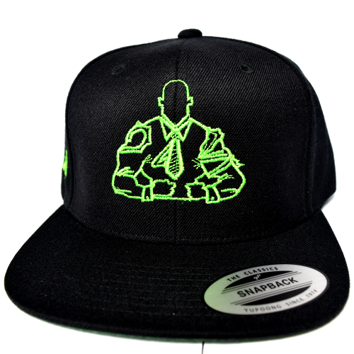 bosslife-athletics-snapback-ant-man-green-logo-front